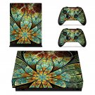 Beautiful Custom Design Design xbox one X skin decal for console and 2 controllers