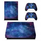 Cosmos Design xbox one X skin decal for console and 2 controllers