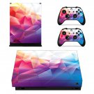 Abstract Design Design xbox one X skin decal for console and 2 controllers
