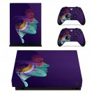 Custom Face Art xbox one X skin decal for console and 2 controllers