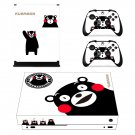 Hello Kumamon xbox one X skin decal for console and 2 controllers