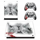 The Evil Within 2 xbox one X skin decal for console and 2 controllers