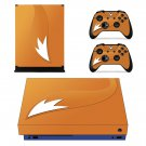 Fox Tail xbox one X skin decal for console and 2 controllers