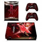 Houston Rockets xbox one X skin decal for console and 2 controllers