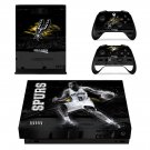 San Antonio Spurs xbox one X skin decal for console and 2 controllers