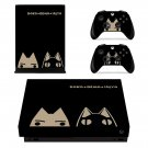 Doko Demo Issyo xbox one X skin decal for console and 2 controllers