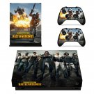 Battlegrounds xbox one X skin decal for console and 2 controllers