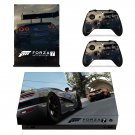 Forza Motorsport 7 xbox one X skin decal for console and 2 controllers