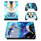 Dragon Ball Super xbox one X skin decal for console and 2 controllers