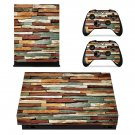Piled colorful Stone xbox one X skin decal for console and 2 controllers