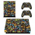 Fondos de pantalla hd collage xbox one X skin decal for console and 2 controllers