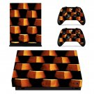 Brick wall Design xbox one X skin decal for console and 2 controllers