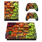 Wall Graffiti xbox one X skin decal for console and 2 controllers