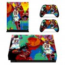 Michael jordan leroy neiman xbox one X skin decal for console and 2 controllers