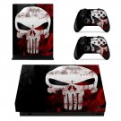Skull xbox one X skin decal for console and 2 controllers