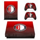 Feyenoord Rotterdam xbox one X skin decal for console and 2 controllers