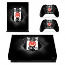 Beşiktaş J.K. xbox one X skin decal for console and 2 controllers