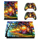 Forest painting xbox one X skin