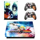 Naruto to Boruto Shinobi Striker xbox one X skin decal for console and 2 controllers