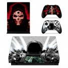 Dark Wanderer xbox one X skin decal for console and 2 controllers