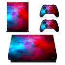 Custom Painting xbox one X skin decal for console and 2 controllers