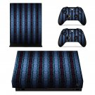 Custom Pattern xbox one X skin decal for console and 2 controllers