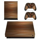 Wooden Texture xbox one X skin