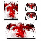 Flag of Turkey xbox one X skin decal for console and 2 controllers