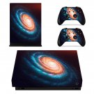 Spiral Galaxy xbox one X skin decal for console and 2 controllers