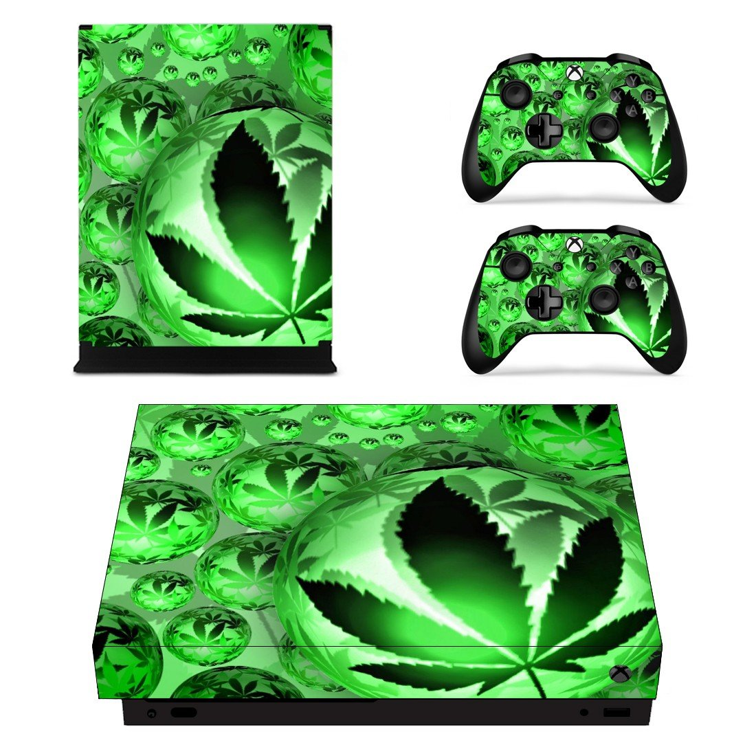Weed Leaf xbox one X skin