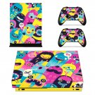 Anime xbox one X skin decal for console and 2 controllers