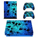Octopus Pattern xbox one X skin decal for console and 2 controllers
