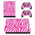 Pink Pattern xbox one X skin decal for console and 2 controllers