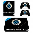 Club Brugge KV xbox one X skin decal for console and 2 controllers