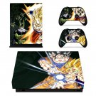 Dragon Ball Z xbox one X skin decal for console and 2 controllers