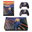 Starry night xbox one X skin decal for console and 2 controllers
