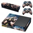 Warframe plains of eidolon skin decal for Xbox one console and controllers