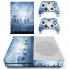 Arktika.1 skin decal for Xbox one S console and controllers