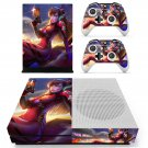 Asuka D.va skin decal for Xbox one S console and controllers