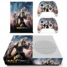 Warframe plains of eidolon skin decal for Xbox one S console and controllers