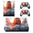 Total war arena boudicca skin decal for Xbox one X console and controllers