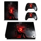The Evil Within 2 skin decal for Xbox one X console and controllers