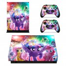 My Little Pony The Movie skin decal for Xbox one X console and controllers
