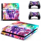 My Little Pony The Movie decal for PS4 PlayStation 4 console and 2 controllers