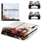 Serious Sam VR The Last Hope decal for PS4 PlayStation 4 console and 2 controllers