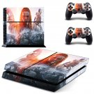 Total war arena boudicca decal for PS4 PlayStation 4 console and 2 controllers