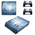 Arktika.1 ps4 pro skin decal for console and controllers