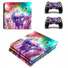 My Little Pony The Movie ps4 pro skin decal for console and controllers