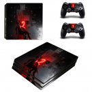 The Evil Within 2 ps4 pro skin decal for console and controllers