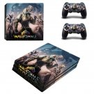 Warframe plains of eidolon ps4 pro skin decal for console and controllers